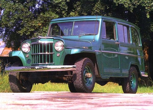 1946 Willys Jeep Station Wagon
